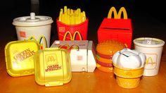 Transforming Happy Meal Toys.