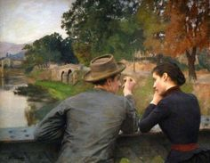 The Lovers, Emile Friant