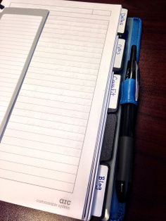 Arc Notebook System Review http://carolannmarks.com/m-by-staples-arc-notebook-system/ #Organize #Planners #Staples