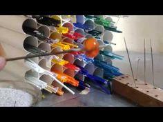 Making a Murano Glass Bead - YouTube