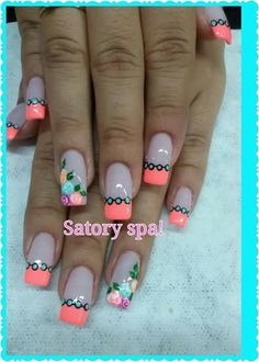 Mani Pedi, Nail Manicure, Pedicure, Nails 2017, Beautiful Nail Art, Creative Nails, Spring Nails, Hair Hacks, Pretty Nails
