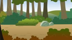 Running of the Leaves - bg vector by ~Chagial on deviantART (Chagial, 2012)