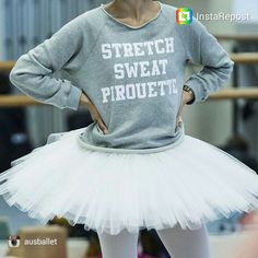 Stretch... Sweat... Pirouette I need this