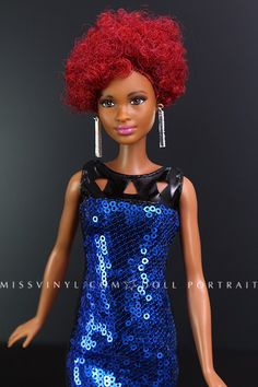 Fashionistas Tall Fab Fringe in Look Night out dress
