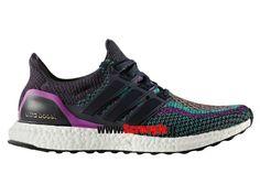 meet 56ae4 c36d2 Chaussures de Running Pas Cher Pour Femme Adidas Ultraboost M Night  Navy Shock Purple BB3908