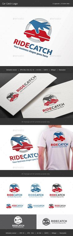 Car Catch Logo — Vector EPS #sell #app • Available here → https://graphicriver.net/item/car-catch-logo/11808393?ref=pxcr