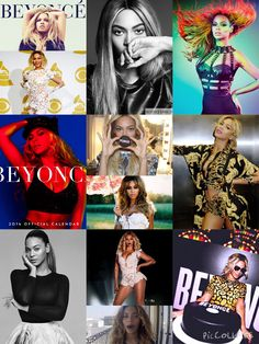 Beyonce collage I made