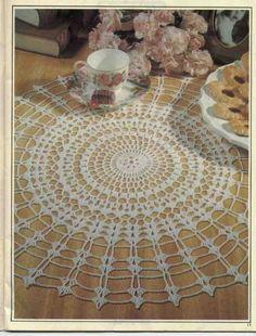 Magic Crochet N°91-1994 - claudia - Álbuns da web do Picasa....pretty doily and a free pattern!
