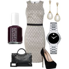 """Fall 2013"" by sarah-brunn on Polyvore LOVE! ESPECIALLY THE MOVADO!"