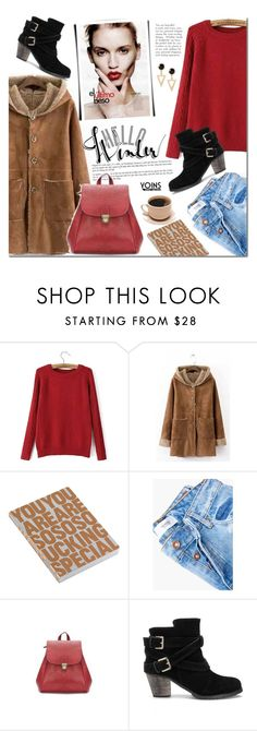 """Winter style with Yoins"" by mada-malureanu ❤ liked on Polyvore featuring Nuuna, MANGO, yoins and yoinscollection"