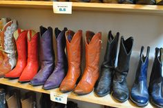 Fabulous selection of used cowboy boots