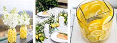 Lemon power - idee con i limoni per la tavola estiva. Table Settings, Table Decorations, Outdoor, Home Decor, Outdoors, Decoration Home, Room Decor, Place Settings, Outdoor Games