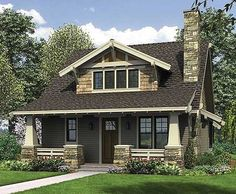 Plan No: W69541AM Style: Cottage, Craftsman, Northwest Total Living Area: 1,777…