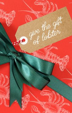 Need Ideas For Maine Lobster Inspired Holiday Gifts Weve Got A Great Haul Right Here