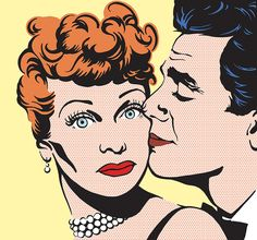 Lucy and Desi No. 1 by Jennifer Holzner, via Behance