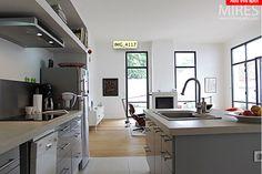 Cuisine semi ouverte verri re r novation de cuisine - Photo de cuisine ouverte sur sejour ...