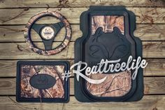 Realtree Outfitters Camo Truck Accessories #realtreelife