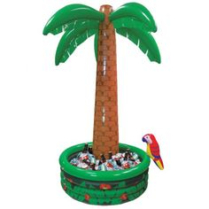 Inflatable Blow up tall Palm Tree Drinks Cooler Beer Chiller -21,11 eu