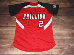 Have a look at this custom jersey designed by Brillion Lions Softball and created at Team Sporting Goods in Marshfield, WI! http://www.garbathletics.com/blog/lions-softball-custom-jersey-4/ Create your own custom uniforms at www.garbathletics.com!