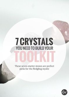 Curious about crystals? Here are the perfect seven crystals to get you started. Here's why! | Rogue Wood Supply