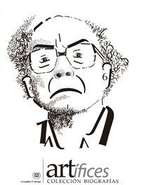 Retrato tipográfico de José Saramago realizado por Laura Sarmiento
