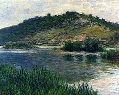 Claude Monet 1883 Landscape at Port-Villez
