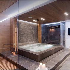 Dream bathroom or what? Definitely Mr. & Mrs. Goodlife approved!!  Tag someone who needs this