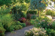 a garden to walk through