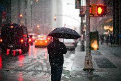 Winter's day, Midtown, New York City by Navid Baraty