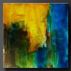 Umbral pintura de acrílico 24 x 24 Resumen de pared