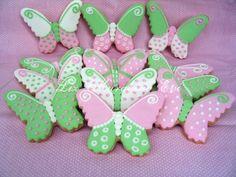 Kelebek kurabiyeler by liz kurabiye evi, via Flickr