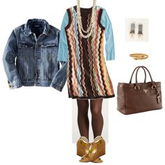 Target Missoni, created by bichonluvr -- Have the dress and looking for new ways to wear it.