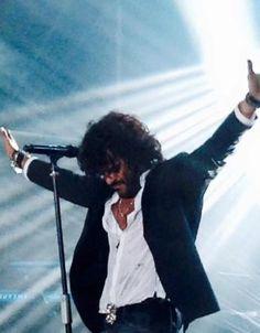 Francesco renga durante il concerto <3