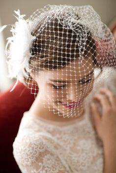 lo-boheme veil accessorie hair bridal wedding
