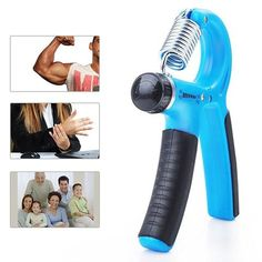Hand Wrist Power Grip Strength Training Fitness Grips Gym Exerciser Gripper Beam