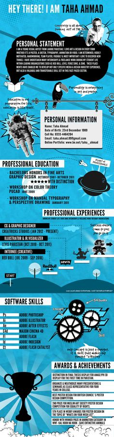 44 Unusual And Artistic Resume Designs SmashingApps - artistic resume