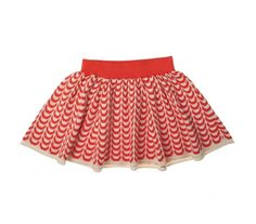 FUB Dress Chain Skirt Red | Scandinavian Minimall