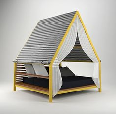 Outdoor Lounge Bed by Patricia Urquiola for Kettal - Design Milk
