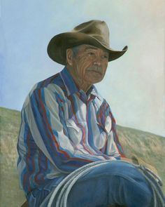 Remembering the Good Ole' Days by Tarryl Gabel from AWA's 2017 spring online juried show. #womenartists #springonlineshow17 #figurative #portraitpainting #portraits #figurativepainting