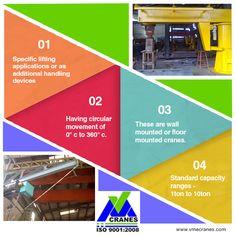 #Jib #Cranes For more details Visit : http://www.vmecranes.com/