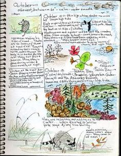 [orginial_title] – Art by Nitsa Keeping a Bird Watching Journal bird watching journal page- lets all collect examples of bird watching project elements to include in the early spring arrival of the birds Journal D'art, Artist Journal, Garden Journal, Nature Journal, Art Journal Pages, Bullet Journal, Art Journals, Journal Ideas, Watercolor Journal