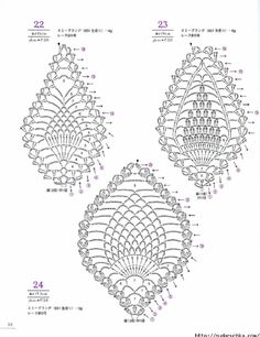#ClippedOnIssuu from Asahi original lacework pineapple pattern