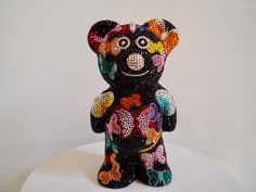 French Bruno by J. Edelweiss, French, Pink, Bulldog Breeds, Rhinestones, Crystals, Kunst, French People, French Language