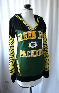 Custom Green Bay Packer Shirt