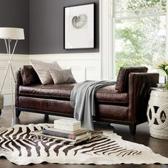 Tips That Help You Get The Best Leather Sofa Deal. Leather sofas and leather couch sets are available in a diversity of colors and styles. A leather couch is the ideal way to improve a space's design and th Williams Sonoma, Sofa Deals, Best Leather Sofa, Couch Set, Transitional Living Rooms, Transitional Sofas, Settee, Home Improvement Projects, Credenza