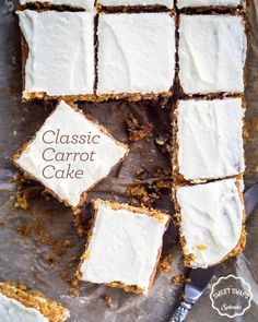 """Say """"bye bye"""" to pie, and swap in this Classic Carrot Cake recipe at your next get-together."""