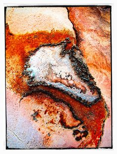 Items similar to Red / orange / black - close up Sea Stone print 13 - giclee - / inches on Etsy First Day Of Summer, New Shop, Croatia, Crafty, Stone, Prints, Red, Etsy, Vintage