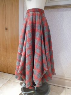 Sham's Tablecloth Skirt. A true winner!