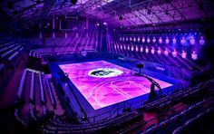 Interactive LED basketball court [Nike RISE]   Complete list of the winners   Good Design Award