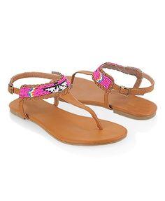 Beaded Sandals - StyleSays